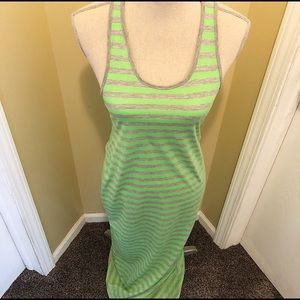 Dresses & Skirts - Neon Striped Maxi-Dress. Made in the USA 🇺🇸